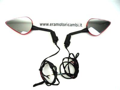 Barracuda Pair Of Rear View Mirrors And Arrows Ducati Multistrada 1100 S 2010