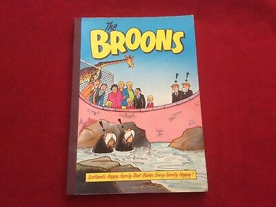 The Broons 1989 Annual Scotland's Happy Family