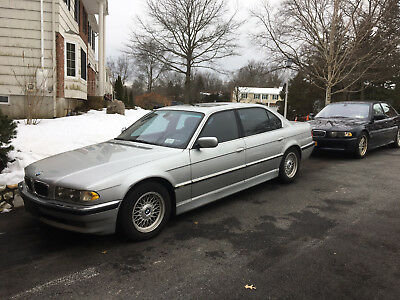 2001 BMW 7-Series Leather 2001 bmw 740 IL