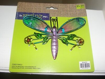 """Spring Time """"pot Percher"""" """"dragonfly"""" New Add Flare To Your Potted Plants"""