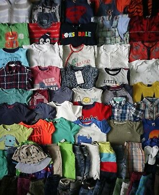 Extra Massive Baby Boys Clothes Bundle 12 - 18 Months/Over 70 Items