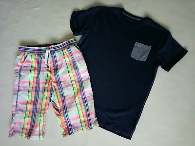 Boys NEXT T-shirt And Shorts Clothes Bundle 15 - 16 Years