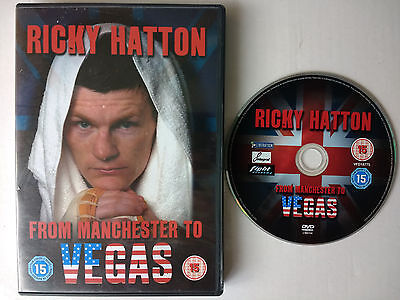 Ricky Hatton - From Manchester To Vegas (DVD) Floyd Mayweather Jnr. bout footage
