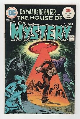 DC Comics House of Mystery UFO #230 Bronze Age