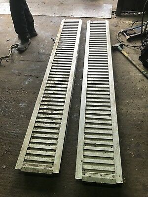 IFOR WILLIAMS 8ft ALLOY RAMPS  RECOVERY TRUCK RAMPS PAIR OFF