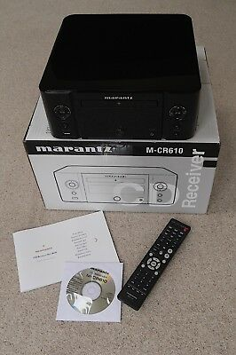 Marantz M-CR610 CD Receiver All in one player. Excellent condition.
