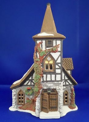 Dept 56 55620 Old Michael Church  Dickens Village Lighted Building