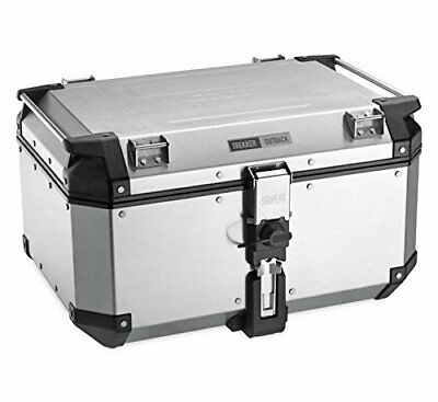 GIVI OBK58AA Outback Series 58L Aluminum Top Case - Silver