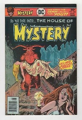 DC Comics House of Mystery #244 Bronze Age