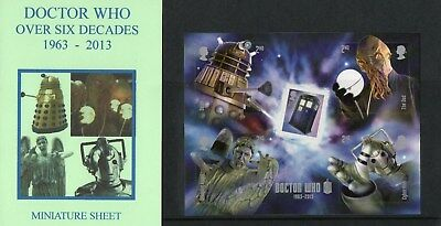 HAVERING PRESENTATION PACKS ~ DOCTOR WHO over 6 Decades 1963 ~ 2013