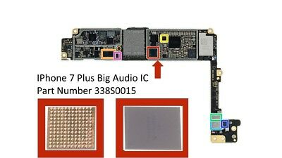 New Big Audio IC For iPhone 7 Plus Part U3101 338S0015 Motherboard Main IC