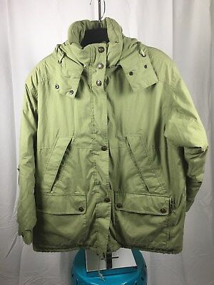 OBEYMEYER Women's Size 12 Insulated Winter Coat Jacket Parka Removable Hood