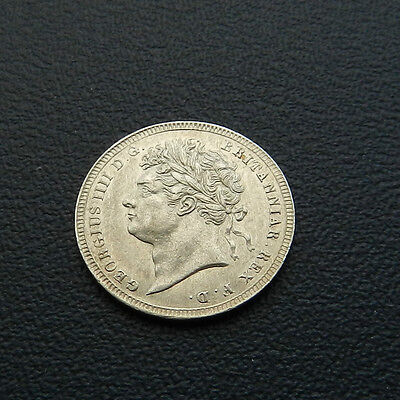 1830 George IV Maundy Threepence Attractive UNC Very Rare