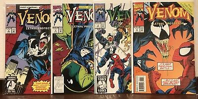 Lot Of 4 Venom, Lethal Protector #2,3,4,6 Spiderman Comics Nm Condition