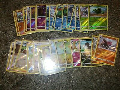 Pokemon reverse holo cards x8. Sun and Moon