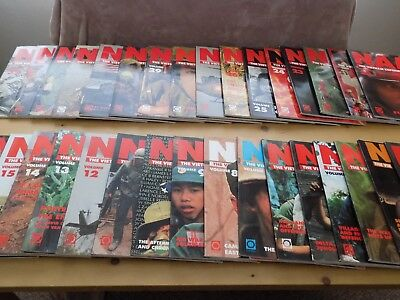NAM - THE VIETNAM EXPERIENCE 1965-1975 (33 Volumes) VERY GOOD CONDITION