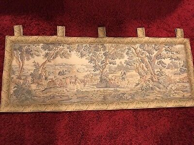 Large Vintage Tapestry/wall Hanging   55 In X 22in