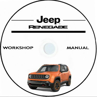 Jeep RENEGADE.Workshop Manual.Manuale Officina anno 2015/2016