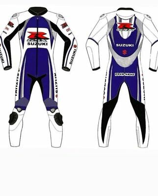 SUZUKI leather suits MOTOGP motorcycle leather riding suits ALL SIZES