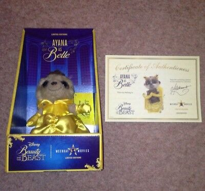 Disney Beauty And The Beast Meerkat Movies Ayana As Belle Soft Toy Plush