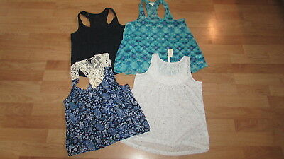 Lot Womens Hollister Aeropostale Foreverr 21 Tank Tops Sz Small Euc !!!
