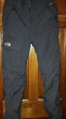 THE NORTH FACE HYVENT Boys Winter Ski Snowboard Snow Pants XL Gray