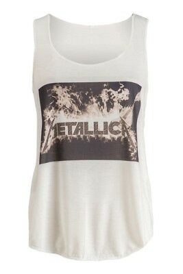 """""""NEW"""" METALLICA Fashionomics Womens Funny Graphic Fitness Workout Tank Tees Top"""