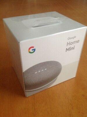 Google Home Mini (BNIB)