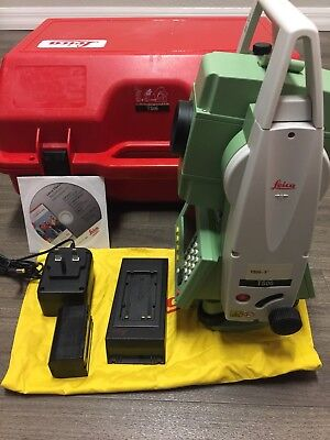 """Leica TS06 5"""" Total Station Surveying, Construction"""