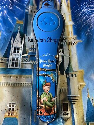 NEW DISNEY Magic Kingdom Peter Pan's Flight Blue Magicband 2 Unlinked
