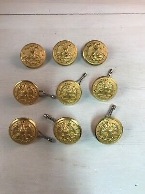 Vintage Lot of Waterbury Eagle/Anchor Navy Buttons