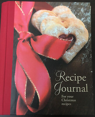 RECIPE JOURNAL For your Christmas Recipes