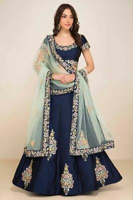 Indian Bollywood Designer Bridal Lehenga Choli Pakistani Wedding  Ethnic 1859