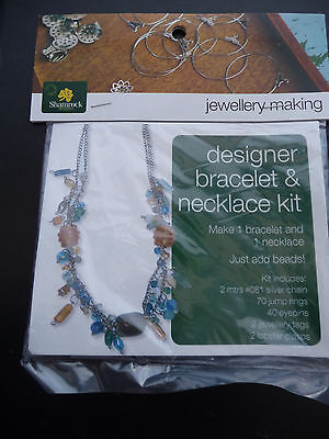 Bracelet & Necklace kit - Silver