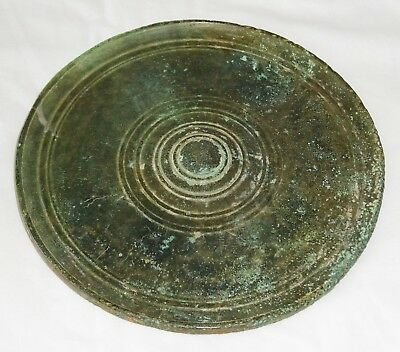 11C Cambodian South East Asian Khmer Excavated Bronze Mirror (Mil)