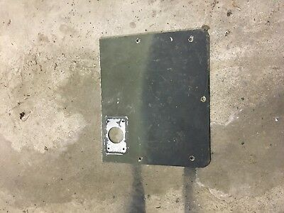 1950 Dodge Aluminum Antenna Mounting Plate