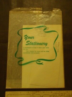 Vintage Hotel Stationary Packet, Restwell Hotel, Project City, Calfornia