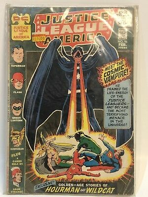 Bronze, Justice League of America #96, Feb 1972 Origin Hourman & Wildcat