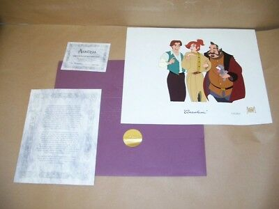 Limited Edition Original Hand-Painted Cel From The Film Anastasia 2745 / 4800 NR