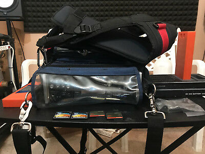 Tascam HS P-82 with Batteries Cards Portabrace Bag and Harness