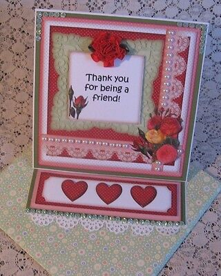 Easel Greeting Card All-Occasion #4 Handmade Premade by CHRIS