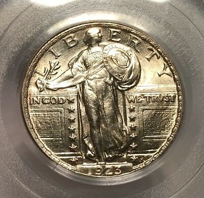 SUPERB 1923 QUARTER Green Label PCGS MS-63 Conservatively Graded - FAST SHIP