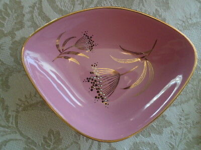 Old Foley James Kent Staffordshire Ballerina 5484 Dish and Bowl