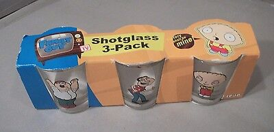 Family Guy Shotglasses 3-Pack by ICUP 2004