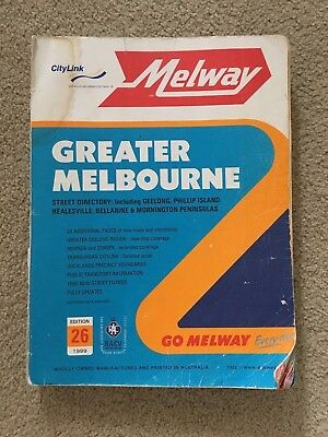 Melway Edition 26 1999