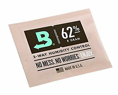 Boveda 62-Percent RH 2-Way Humidity Control 8 gram, 12 Pack