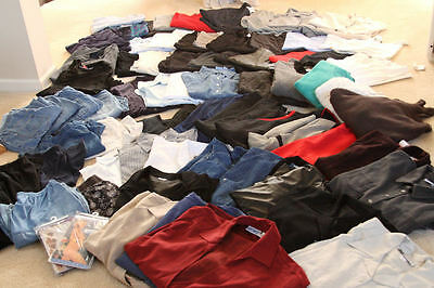Huge 85 Piece Maternity Clothing Lot ~ Mimi, Colleen Conrad, Dan Howard - L / Xl