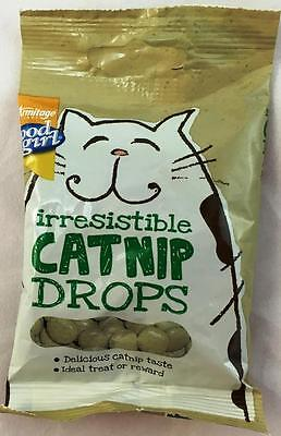 Catnip Drops Cat Treat Treats Kitten Kitty Pet Natural Training Reward 40g