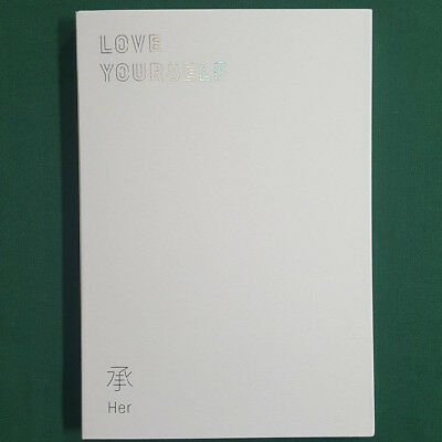 [Pre-Owned/ No Photocard] BTS Love Yourself Her E Version EP Album CD/ Booklet