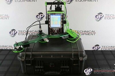NDT Systems Encoded Scan Raptor Ultrasonic Flaw Detector Panametrics Krautkramer